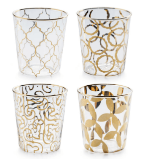 $72.00 Luxe Glasses, Set of 4