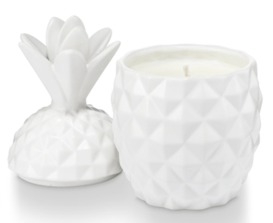 $28.00 Pineapple Ceramic Candle