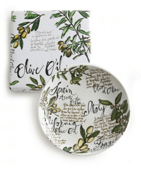 $56.00 Olive Oil Serving Bowl