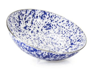 Golden Rabbit  Cobalt Catering Bowl - Cobalt $48.00