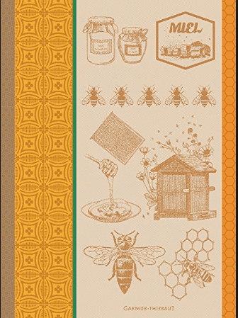 Garnier-Thiebaut Linens Tea Towel - Bee collection with 1 products