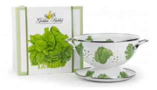 $49.00  Golden Rabbit, Lettuce Colander Set