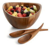 Over the Moon Exclusives   Harmony 3pc Salad Set  $89.00