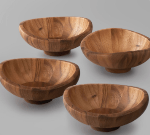 Butterfly Individual Salad Bowl Set of 4 collection with 1 products