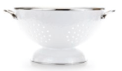 Golden Rabbit  White Large Colander, White $44.00