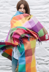 Avoca Wool Circus Large Lambswool Throw collection with 1 products