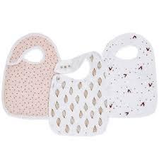 $25.00 Nibble Snap Bib Set of 3
