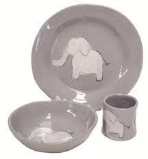 $120.00 3 pc Childs Dinnerware Set
