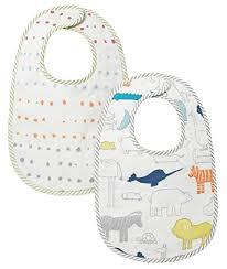 $20.00 Bib Set of 2 (Noah\'s Ark)