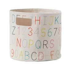 Alphabet Bin collection with 1 products