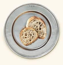 $100.00 Convivio  Pewter Bread Plate