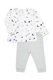 $36.00 Moon & Stars 2 pc Kimono & Jogger