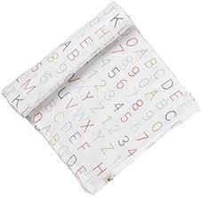 $20.00 Alphabet Swaddle