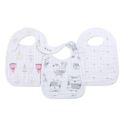 Nibble Snap Bib- Lovebird collection with 1 products