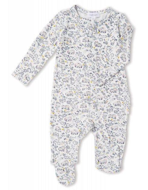 $37.00 Owl Footed Romper
