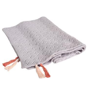 $76.00 Pointelle Blanket Lilac
