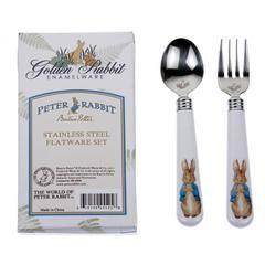 Golden Rabbit   Peter Rabbit Flatware $15.00