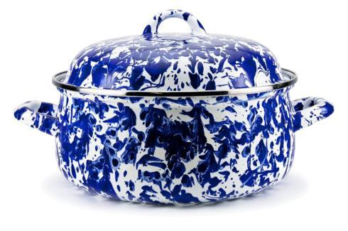 Golden Rabbit  Cobalt Cobalt Swirl Dutch Oven $50.50