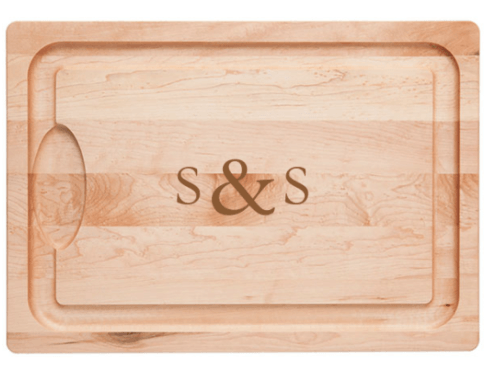 $80.00 Farmhouse Carver Laser Engraved with Initial