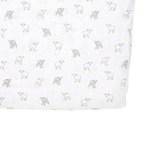 $38.00 Lamb Crib Sheet