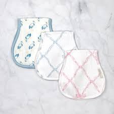 The Beaufort Bonnet Company   Oopsie Daisy Burp Cloth  $0.00