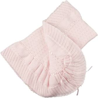 Feltman Brothers   Pointelle Baby Blanket $65.00