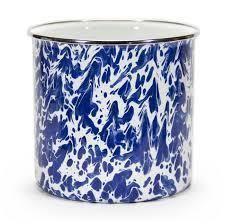 $36.00 Cobalt Utensil Holder w/ Monogram