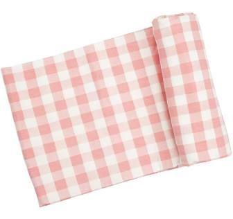 Angel Dear   Pink Gingham Blanket $24.00