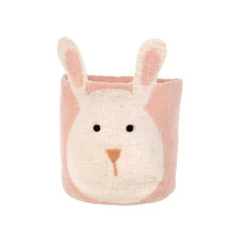 Over the Moon Exclusives   Indaba Bunny Storage Bin $44.00