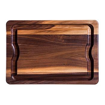JK Adams   Personalized Walnut Carving Board $125.00