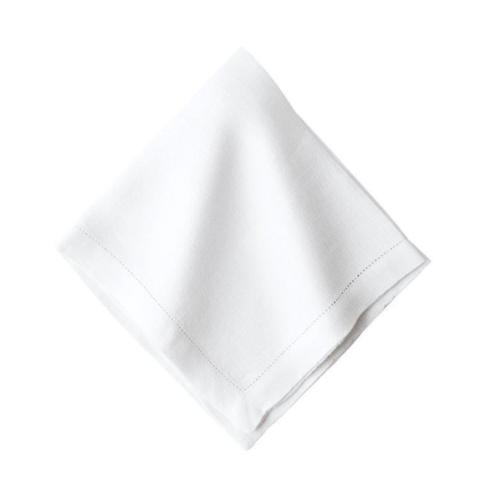 $18.00 Heirloom Linen Napkin w/ Navy Monogram