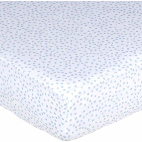 $38.00 Blue Dot Crib Sheet