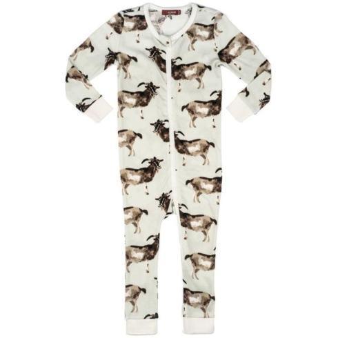 $42.00 Organic Cotton Goat Zip PJ