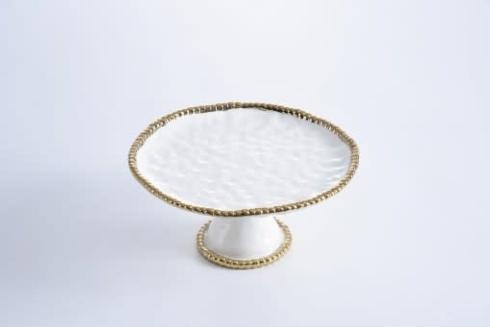 Over the Moon Exclusives   Pampa Bay Golden Salerno Cake Pedestal $75.00