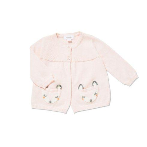 $45.00 Pink Fox Cardigan