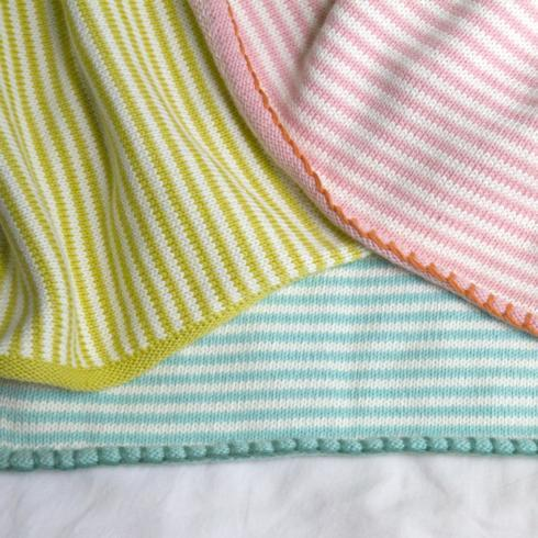 $84.00 Little Boat Blanket - Chartreuse