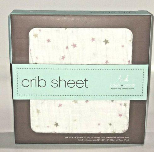 $30.00 Lovely Starburst Crib Sheet
