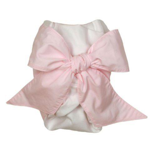 The Beaufort Bonnet Company   Pink Bow Swaddle $0.00