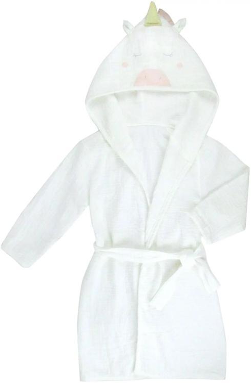 Albetta   Muslin Unicorn Robe $70.00
