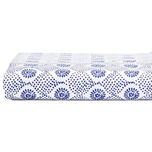 $125.00 MINJA INDIGO FITTED SHEET QUEEN