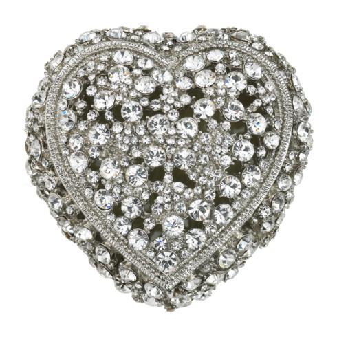 $185.00 Crystal Heart Box