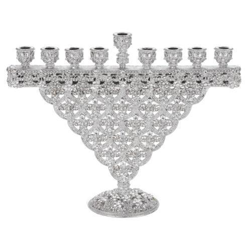 $275.00 Crystal Sinclair Menorah