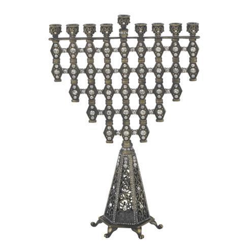 $450.00 Bronze Ziva Menorah