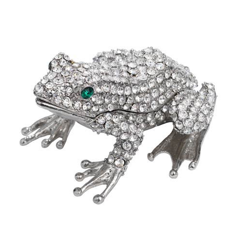 $85.00 Crystal Frog Box