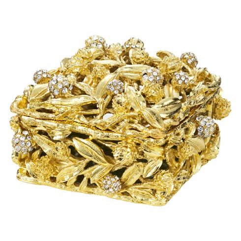 $120.00 Gold Cornelia Box