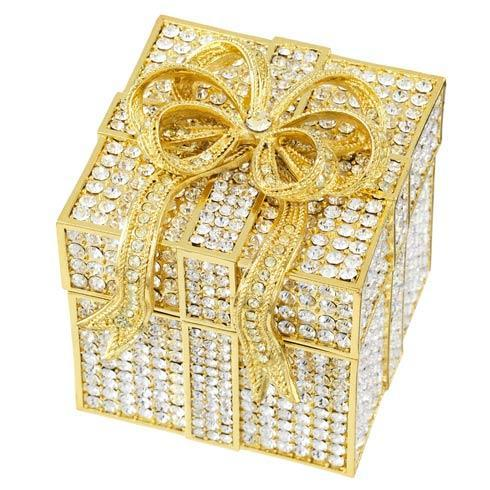 $320.00 Crystal Pavé Gift Box