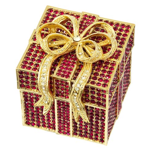 $320.00 Ruby Pavé Gift Box