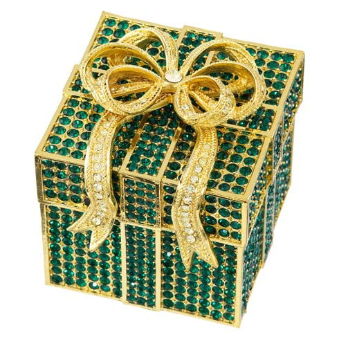 $320.00 Emerald Pavé Gift Box