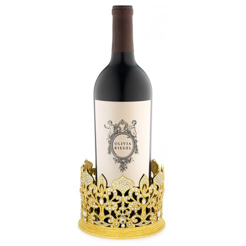 $335.00 Crown Candle Holder/Wine Coaster