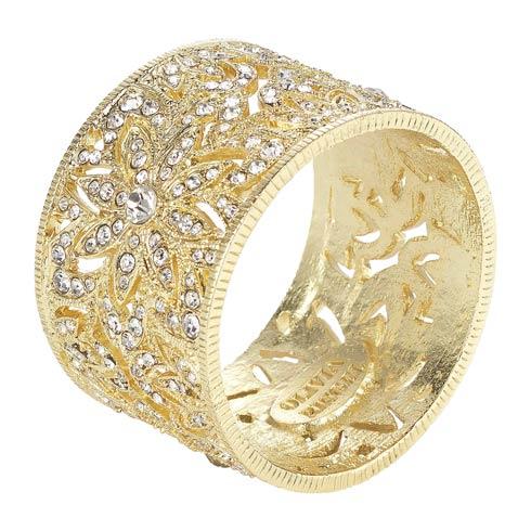 $195.00 Napkin Ring Set of 4